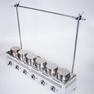 """Bateria """"VARI HEAT"""" (SOXHLET-TWISSELMANN ) de extracción 2 det. Tecnodalvo (no incluye material de vidrio)"""
