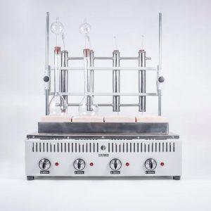 Equipos Macro-Micro KJELDHAL para Destilación 2 det TecnoDalvo