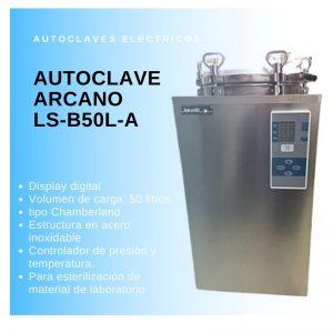 Autoclave vertical Arcano LS-B50L-A Digital 50L