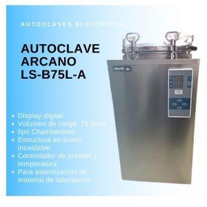 Autoclave vertical Arcano LS-B75L-A Digital 75L