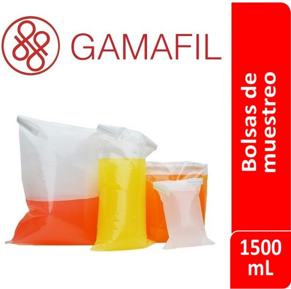 Bolsas para muestreo esteriles 1500 ml 100 ud Gamafil