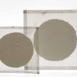 Tela metallica con centro refractario 15×15 cm importado