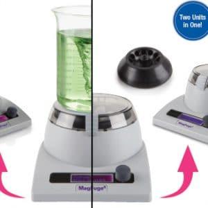 Agitador magnetico y centrifuga 2 en 1 MagFugue Heathrow Scientific