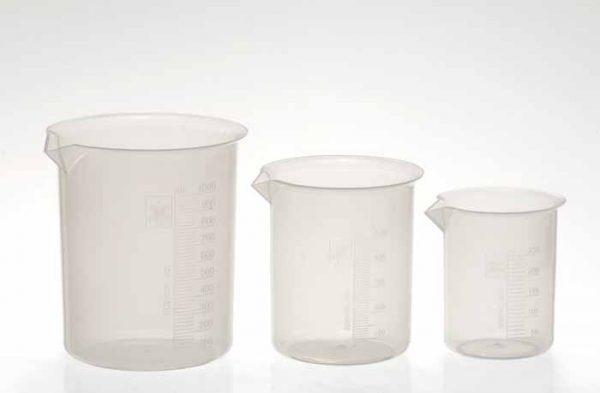 Vaso precipitado plastico 5000 mL Origen: India