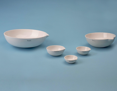 Cápsula de porcelana Med: 25 x 60 mm Cap: 24 mL importada