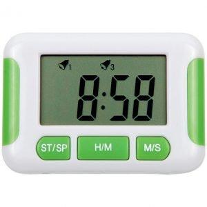 Timer digital 24 hs 5 alarmas: tiempo de conteo 23h y 59m importado