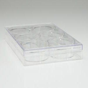 Placa Multiwell de cultivo celular de 12 cavidades. Blister sellado por unidad