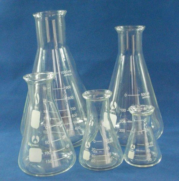 Erlenmeyer Clase A 10.000 ml Boro 3.3 Hlalab