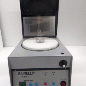 Microcentrifuga Giumelli Z-12 para microhematocritos