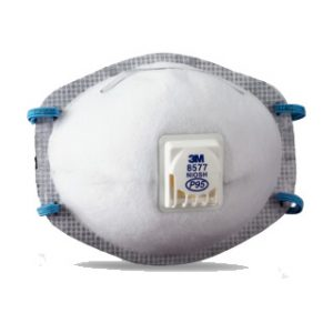 Respirador 8577 P95 3M olores molestos con válcula de exhalación x 10 uds