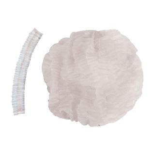 Cofia Plisada Descartable Blanca (Bolsa x 500 U)