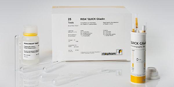 RIDA® QUICK Gliadin x 25 det R-Biopharm