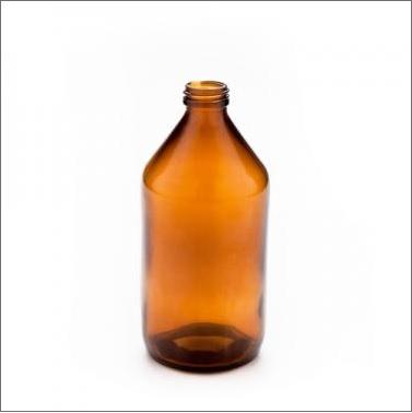 Botella vidrio color caramelo. tapa rosca 100 mL de capacidad