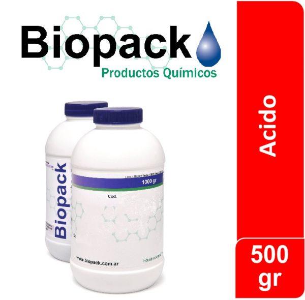 ACIDO TARTARICO P.A. (A.C.S.) x 500 g Biopack