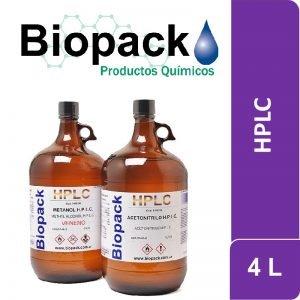 Acetonitrilo HPLC 4 L Biopack