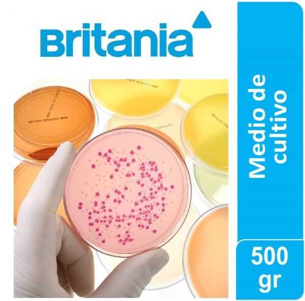 Agua Peptonada bufferada (ISO 6579) 500 gr (s/industria)   Britania