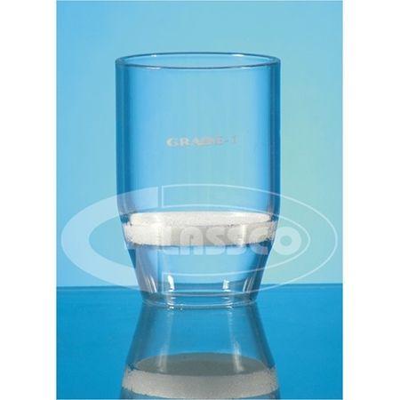 Crisol filtrante 50 mmØ 50 ml de capacidad poro Nº 4 Glassco