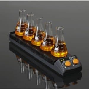 Agitador magnetico con calefacción multiple 5 posiciones Glassco Labs