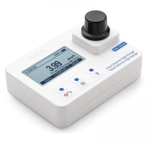 Fotómetro para Cloro Libre y Total rango alto HI97734C Hanna Instruments