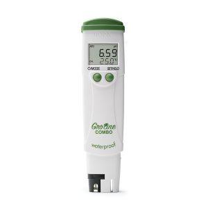 Medidor de pH/CE/TDS / T° GroLine para hidroponia Hanna Instruments