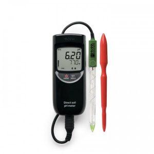 Kit de medición directa del pH del suelo Hanna Instruments