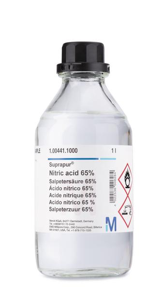 Acido nítrico 65% Suprapur® 1000 ml Merck