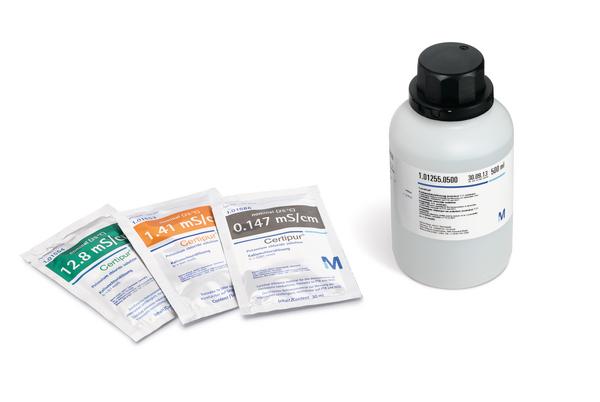 Potasio cloruro SLN 1.41 mS/cm trazable a PTB y NIST Certipur 30x30 ml Merck