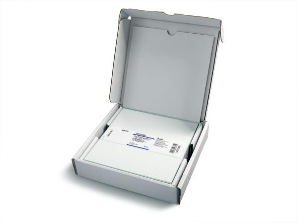 TLC Silicagel 60 F254 Glass TLC plate 10x20 cm x 50 uds Merck
