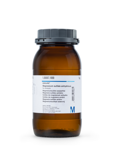 Magnesio sulfato anhidro p.a. EMSURE® 1000 gr Merck