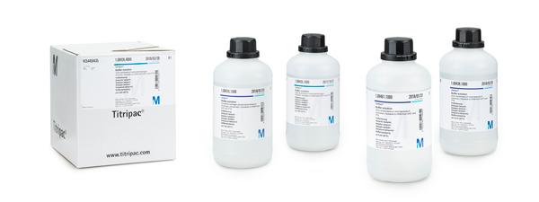 Solución tampón pH 5.00 (ácido cítrico/sodio hidróxido). trazable a SRM de NIST y PTB  (20°C) Certipur® 1000 ml Merck