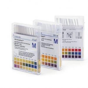 Papel indicador pH 0-14 Universal 100 varillas Merck
