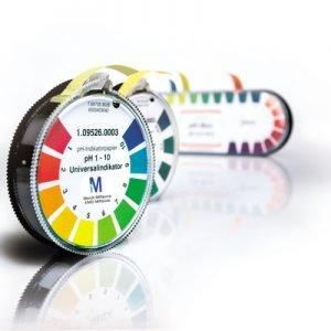 Papel indicador pH 5,5-9,0 Neutralit 3 rollos de 4,8 mt Merck