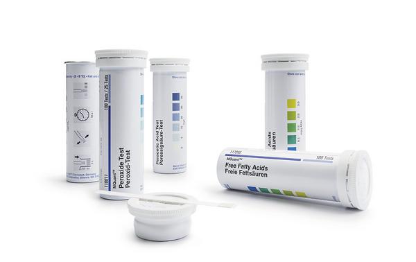 Test hierro metodo con tiras 3-500 mg/L Fe Mquant x 100 tests Merck