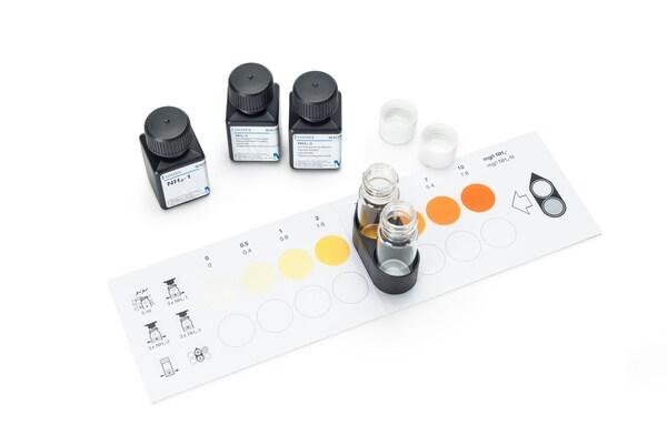 Test Nitratos 10-150 mg/l NO3- Mcolortest 200 tests Merck