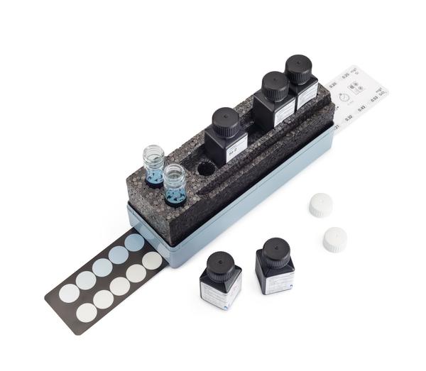 Test Nitritos colorimétrico con comparador 0.005-0.10 mg/l NO?? 0.001-0.030 mg/l NO?-N Mcolortest  110 tests