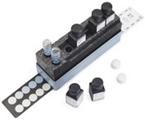 Test Cianuros con comparador 0.002-0.030 mg/l CN? Mcolortest 65 tests Merck
