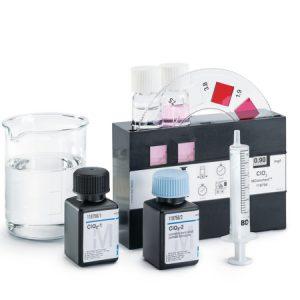 Test Cloro (cloro libre)  DPD con comparador de disco giratorio Mcolortest 1000 tests Merck