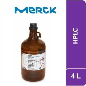 Acetonitrilo gradient grade para cromatografía de líquidos LiChrosolv® Reag. Ph Eur 4 L Merck