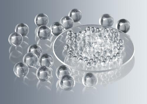 Perlas de vidrio x 7 mm Ø (envases x 1 kg) Marienfeld-Superior (Alemania)