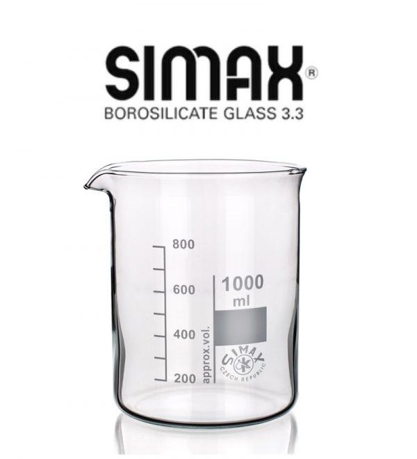 Vaso precipitado vidrio Berzelius 100 mL Simax