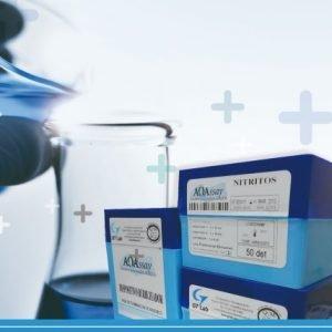 AQAssay AMONIO  25 det. Rango 0.05-20 mg/l GT Lab